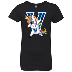 Unicorn Dabbing Villanova Wildcats T-shirt Funny Gift For Fans