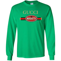 Gucci Bugatti T-shirt Men Long Sleeve Shirt Men Long Sleeve Shirt - PresentTees