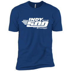 102nd Indy 500 Shirt - Indianapolis 2018 Mens Short Sleeve T-Shirt Mens Short Sleeve T-Shirt - PresentTees