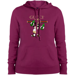 Gucci Mickey Mouse Drink Beer T-shirt Women Hooded Sweatshirt Women Hooded Sweatshirt - PresentTees