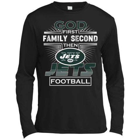 8e680d8e God First Family Second Then New York Jets Nfl Football Sweater