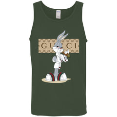 Gucci Rabbit Smoking Funny T-shirt Men Cotton Tank Men Cotton Tank - PresentTees