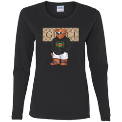 Best Gucci Bear Style Fashion T-shirt Women Long Sleeve Shirt