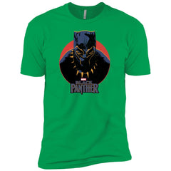 Marvel Black Panther Movie Retro Circle Portrait Youth T Shirt Boys Cotton T-Shirt - PresentTees