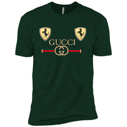 Best Gucci Ferrari New 2018 T-shirt Men Short Sleeve T-Shirt