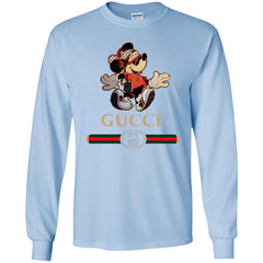 Gucci Mickey Fashion Stylelist Music T-shirt Men Long Sleeve Shirt Men Long Sleeve Shirt - PresentTees