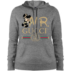 Gucci Couple Disney Mickey Valentine's Day 2018 T-shirt Women Hooded Sweatshirt Women Hooded Sweatshirt - PresentTees