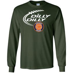 Dilly Dilly Chicago Bears Nfl Shirt For Men Women Kid Mens Long Sleeve Shirt
