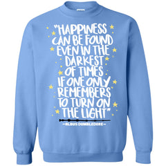 Harry Potter Happiness Can Be Found T Shirt, Crewneck Pullover Sweatshirt Crewneck Pullover Sweatshirt - PresentTees