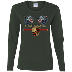 Trending Gucci Porsche Vip Shirt Women Long Sleeve Shirt