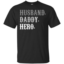Funny Fathers Day Gift From Wife Daughter Son Kid Mens Cotton T-Shirt