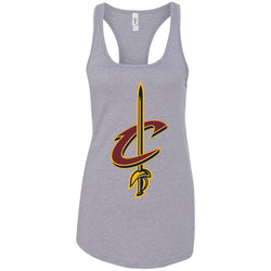 Cleveland Cavaliers Basketball Logo  Nba Ladies Racerback Tank