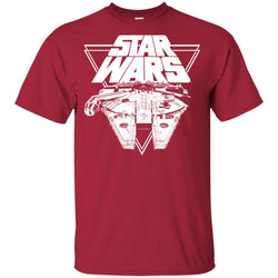 Star Wars Millennium Falcon In Action Youth Cotton T-Shirt
