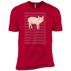 Shane Dawson Oh My God Pig T Shirt For Men And Women Mens Short Sleeve T-Shirt - PresentTees