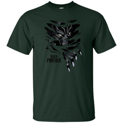 Marvel Black Panther Breaks Through T Shirt Mens Cotton T-Shirt - PresentTees