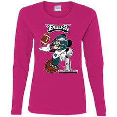 Nfl Philadelphia Eagles Mickey Mouse Super Bowl Football Women Long Sleeve  Shirt Women Long Sleeve Shirt 4d00105b9