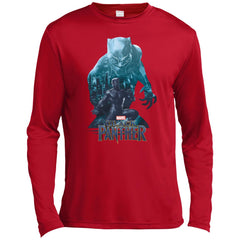 Black Panther Shirt Wakandas Finest Marvel T Shirt Mens Long Sleeve Moisture Absorbing Shirt - PresentTees