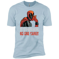 66afdb50 Marvel Deadpool Sshhhh No One Cares Whisper Graphic Boys Cotton T-Shirt Boys  Cotton T