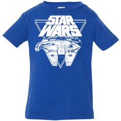 Star Wars Millennium Falcon In Action Infant Jersey T-Shirt