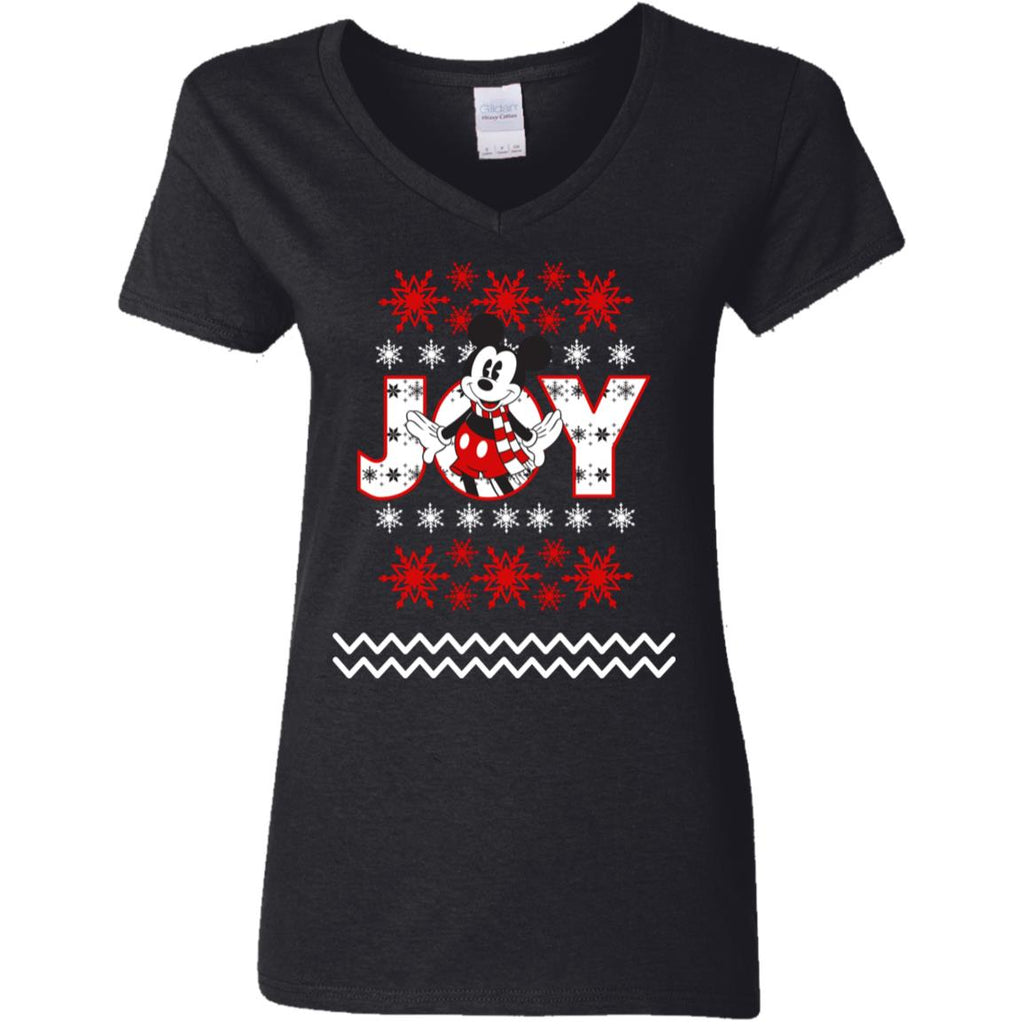 Disney Mickey Mouse Ugly Joy Christmas Sweater Presenttees