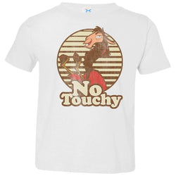 Disney Emperors New Groove Kuzco Llama No Touchy Toddler Jersey T-Shirt