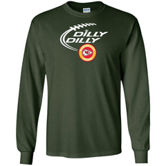 Dilly Dilly Kansas City Chiefs Shirt For Men And Women Mens Long Sleeve Shirt - PresentTees