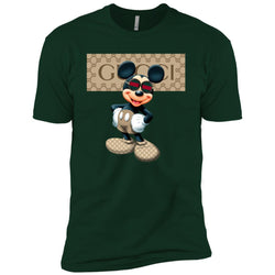 Gucci Mickey Gift Birthday T-shirt Men Short Sleeve T-Shirt