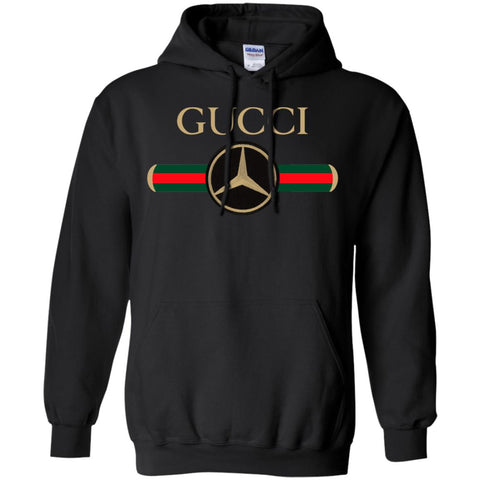 f8808a293fd Gucci Mercedes T-shirt Pullover Hoodie Sweatshirt Black   S Pullover Hoodie  Sweatshirt - PresentTees