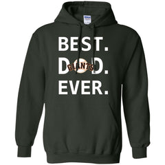 Best San Francisco Giants Dad Ever Baseball Fathers Day Shirt Mens Pullover Hoodie Mens Pullover Hoodie - PresentTees