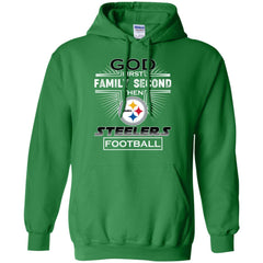 check out a7b98 194dd God First Family Second Then Pittsburgh Steelers Nfl Football Sweater