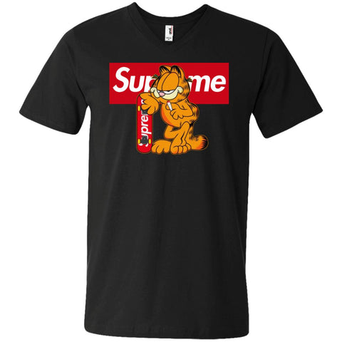 Supreme Tiger T-shirt Men V-Neck T-Shirt Black / S Men V-Neck T-Shirt - PresentTees