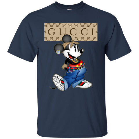 Gucci Mickey Mouse Trending T-shirt= Men Cotton T-Shirt