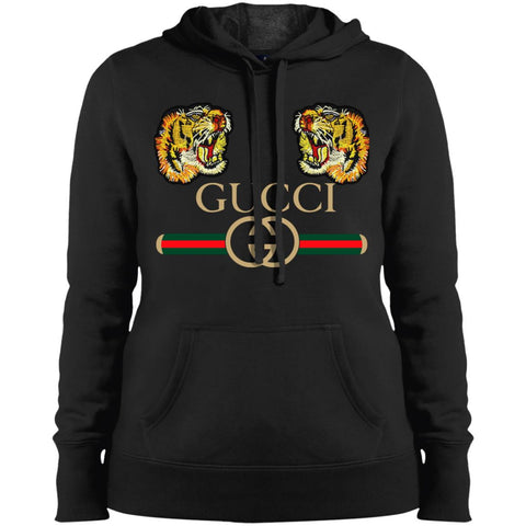 Gucci Tiger T-shirt Love Women Hooded Sweatshirt Black / X-Small Women Hooded Sweatshirt - PresentTees