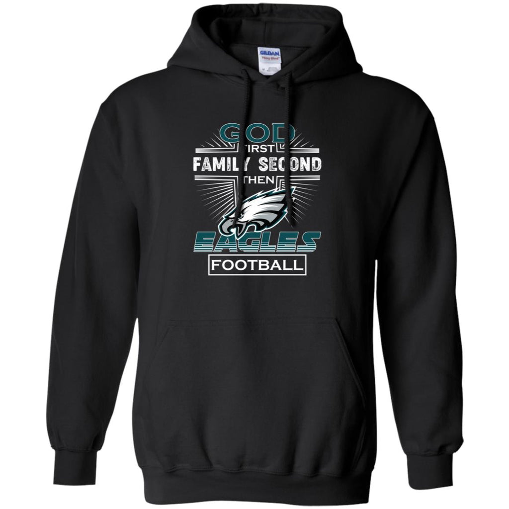 brand new 227b8 b7682 God First Family Second Then Philadelphia Eagles Nfl Football Sweater