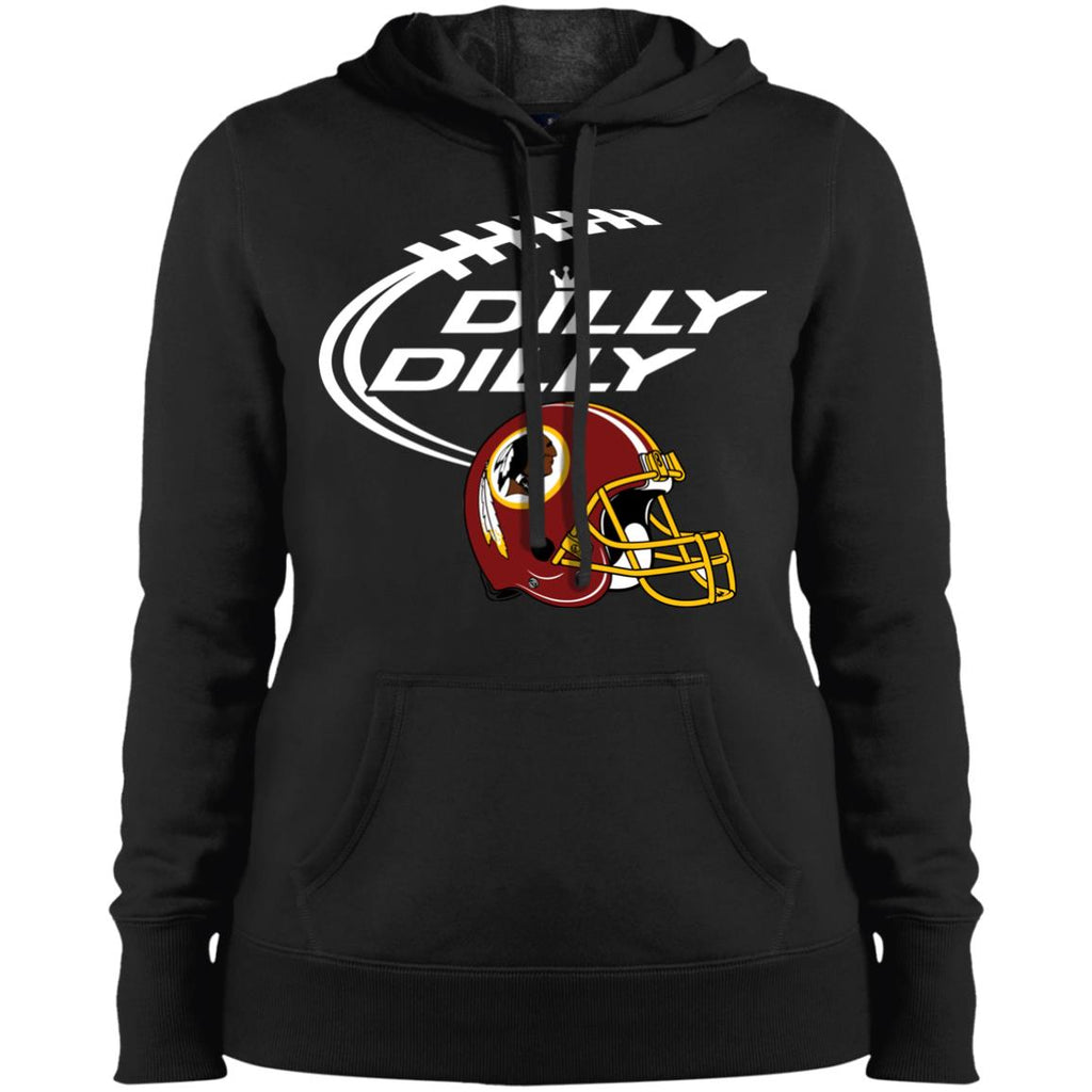 Washington Redskins Dilly Dilly Nfl Football Gift Shirt Ladies Pullover  Hooded Sweatshirt Ladies Pullover Hooded Sweatshirt 496ee0b62