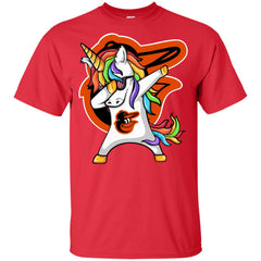 Unicorn Dabbing Baltimore Orioles Baseball Mlb T Shirt Youth Cotton T-Shirt - PresentTees