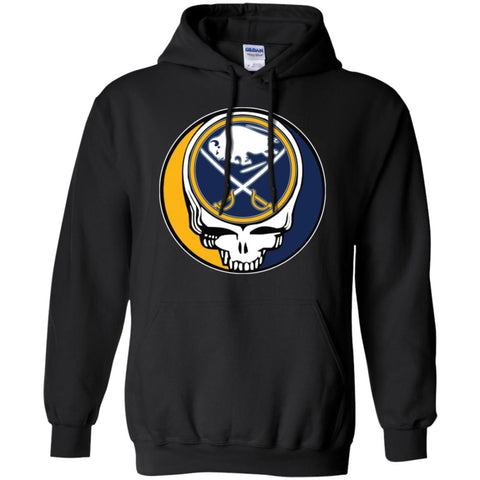 d4ea600bf10 Buffalo Sabres Grateful Dead Steal Your Face Hockey Nhl Shirts Pullover  Hoodie Sweatshirt Black / S