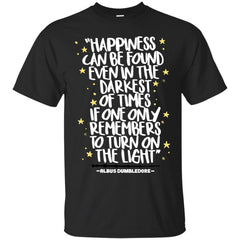 Harry Potter Happiness Can Be Found T Shirt Mens Cotton T-Shirt Mens Cotton T-Shirt - PresentTees