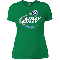 Los Angeles Rams Dilly Dilly Football Shirt Womens Cotton T-Shirt Womens Cotton T-Shirt - PresentTees