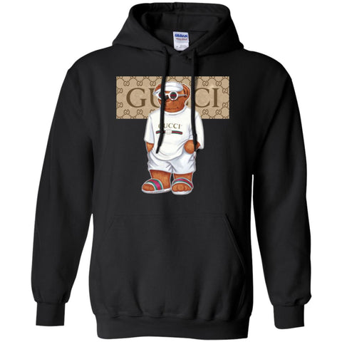 584c9ad1534 Best Life Gucci Bear T-shirt Pullover Hoodie Sweatshirt Black   S Pullover Hoodie  Sweatshirt