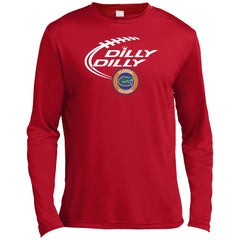 Dilly Dilly Florida Gators Shirts Mens Long Sleeve Moisture Absorbing Shirt - PresentTees