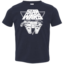 Star Wars Millennium Falcon In Action Toddler Jersey T-Shirt