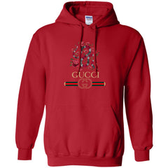 Gucci Logo T-shirt Snake 2018 Pullover Hoodie Sweatshirt Pullover Hoodie Sweatshirt - PresentTees