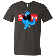 Supreme Woft T-shirt Men V-Neck T-Shirt Men V-Neck T-Shirt - PresentTees