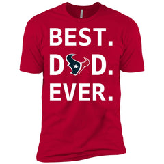Houston Texans Dad Best Dad Ever Fathers Day Shirt Mens Short Sleeve T-Shirt Mens Short Sleeve T-Shirt - PresentTees