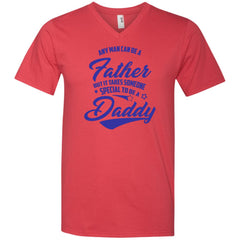 Someone Special To Be A Daddy Shirt Fathers Day Gifts Mens V-Neck T-Shirt Mens V-Neck T-Shirt - PresentTees
