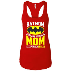 Batmon Just Like A Normal Mom Except Much Cooler T-shirt - Womens Batman Shirt Ladies Racerback Tank - PresentTees