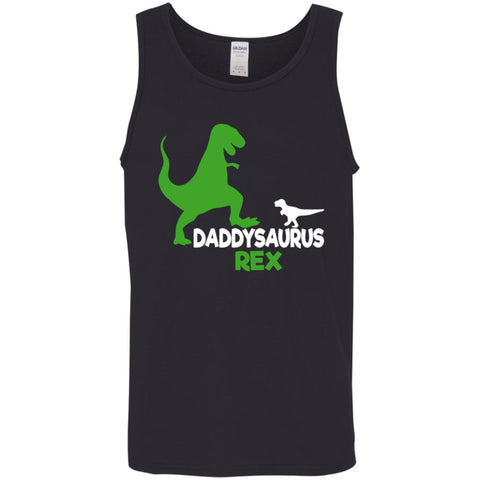 f648e6fc3 Funny Father's Day Gift Idea - Daddysaurus Rex T-shirt Mens Tank Top Black /