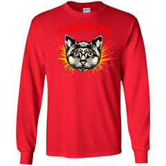 Gucci 2018 Cat Blind For You T-shirt Men Long Sleeve Shirt Men Long Sleeve Shirt - PresentTees