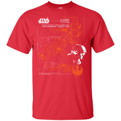 Star Wars Poe Dameron X-wing T Shirt For Kids Youth Cotton T-Shirt - PresentTees